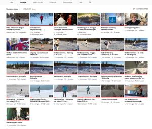 Längdskidåkning på YouTube