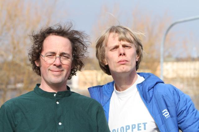 Niklas Bergh och Erik Wickström i podcasten Lagom Kondition