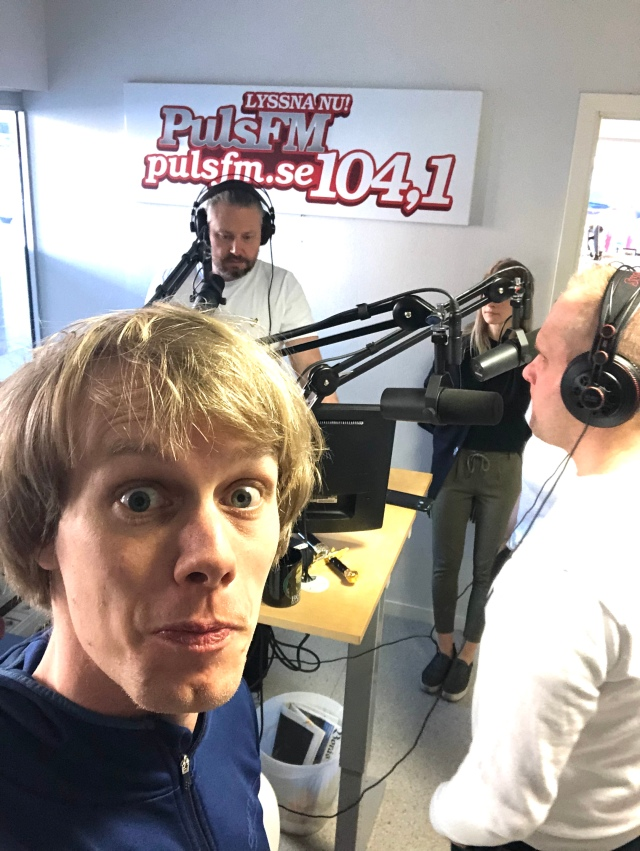 Puls FM med Fredrik Sandgren