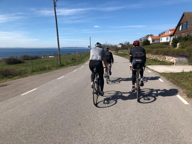Cykling mellan Magnarp och Vejbystrand