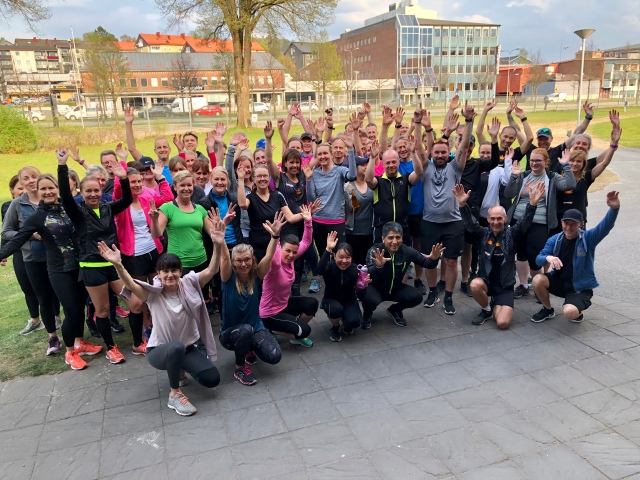 Kretsloppets träningskväll 25 april 2019