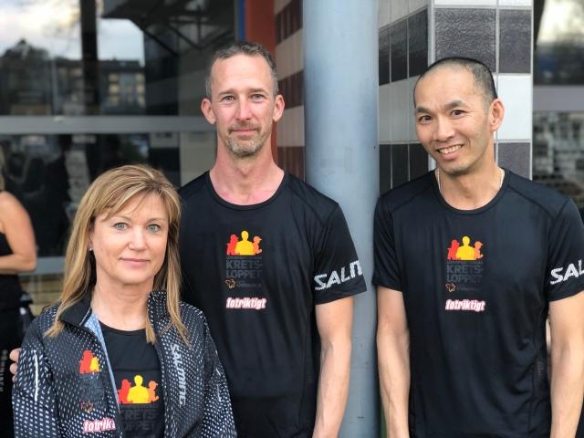 SOK Knallen ansvarar för att tillsätta löpledare som Kretsloppet träningskvällar