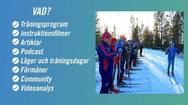 Träning inför Vasaloppet och andra skidlopp med Wickström Coaching