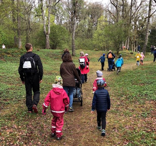 Linnemarschen - BT familjeäventyr. På Rya Åsar.