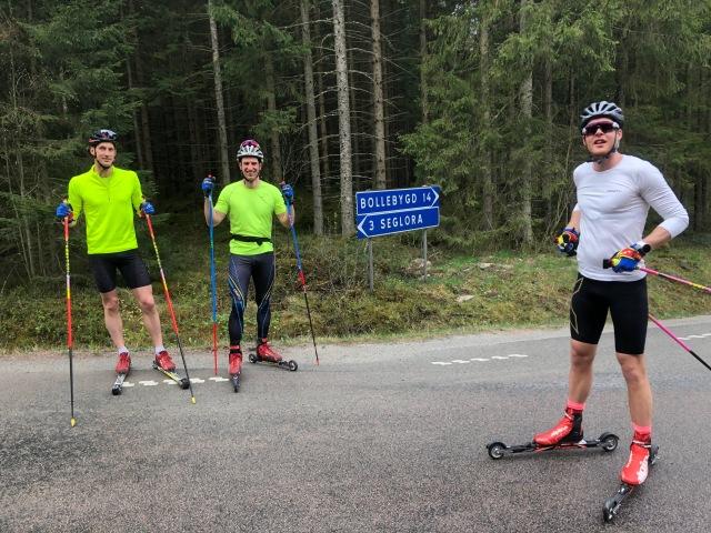 Rullskidor skejt (årspremiär) med Doktor Grenlöv, Johan Kanto och Kristian Olofsson för ett par veckor sedan. På Segloravägen.