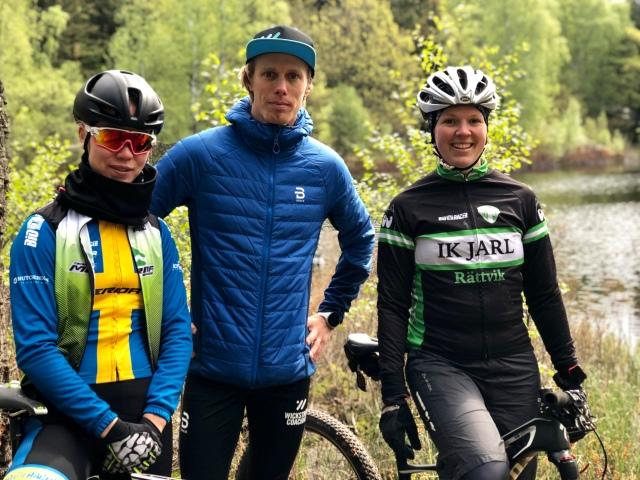 Ella Holmegård, jag och Angelica Edvardsson