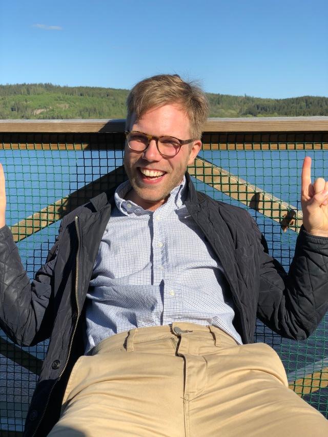 Jakob Dahlbeck vid Öresjö
