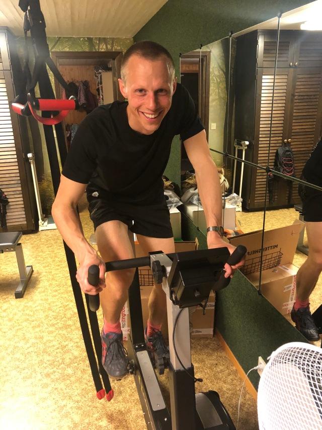 Martin Josefsson lastade watt på BikeErgen