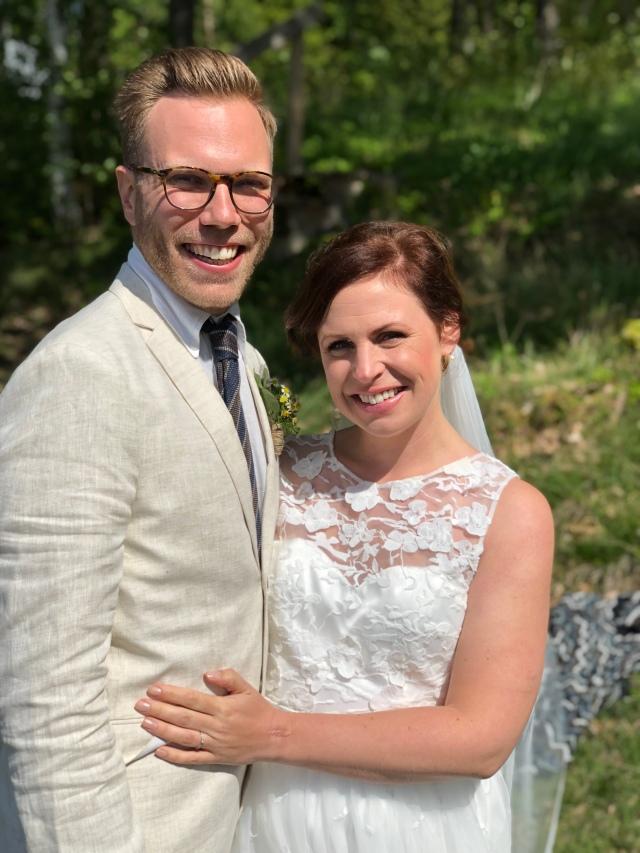 Jakob Dahlbeck och Regina Johansson