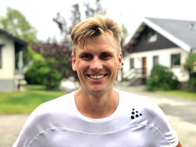 Linus Wirén, Sverige blivande storstjärna i ultralöpning. Sedan näst bästa svenska tiden på 6-timmars genom tiderna.