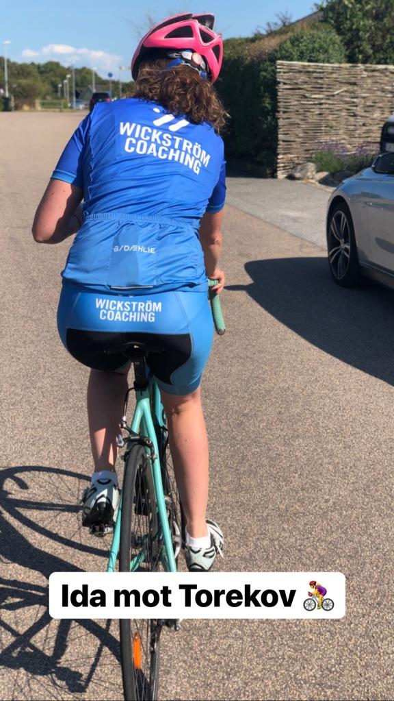 Ida har cyklat 2 mil med handfull gånger i sommar