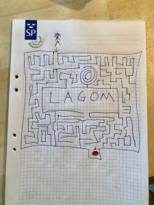 En labyrint, eller maze som de säger i Amerikat