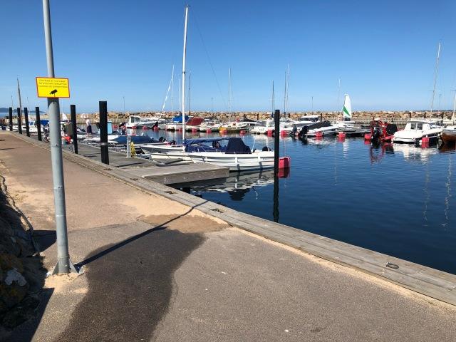 Vejbystrands hamn
