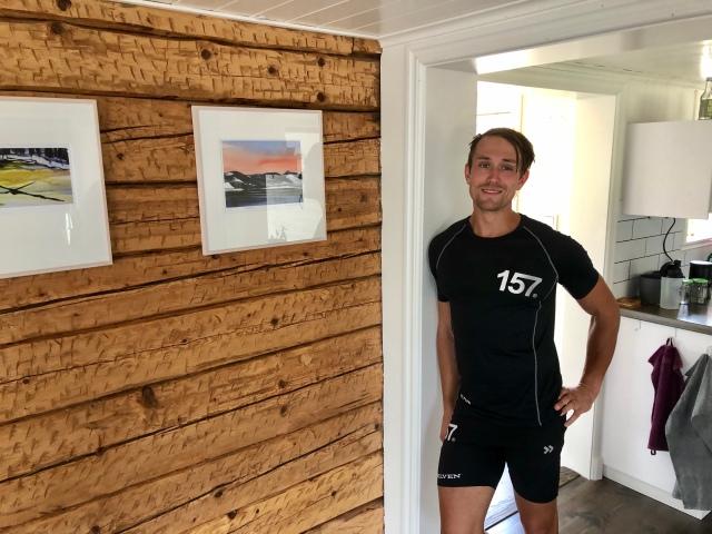 Båda tavlorna är Marcus Johanssons vinster från Höstrullen