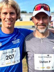 Stefan Palm sprang också 51 km
