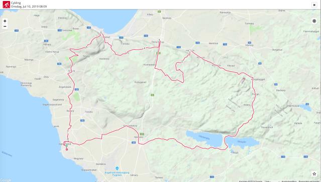 Cykling på Hallandsåsen