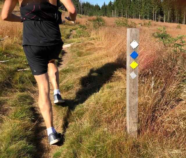 14 km-spåret i Bredared är vitt
