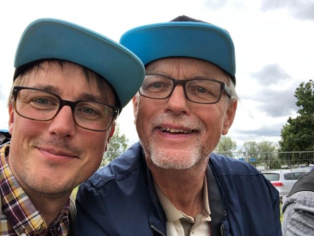 Erik Thiberg och Ulf Wickström. Min kompis och min pappa. Stort tack för bästa servicen!!!