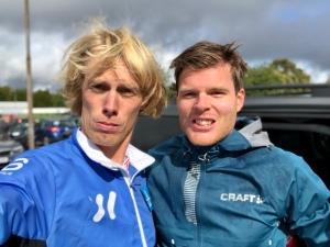 Simon Grenlöv och jag