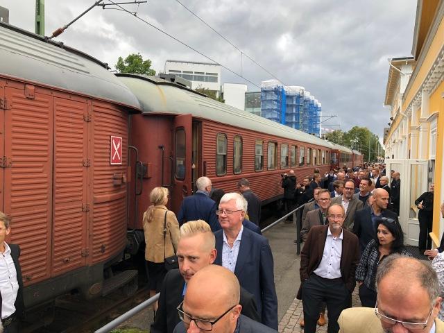Tåg från Borås Öfwre
