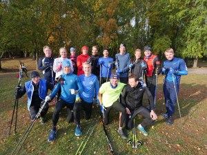 15 av drygt 130 adepter i Wickström Coaching som kom till träningsdagen i Stockholm i helgen.