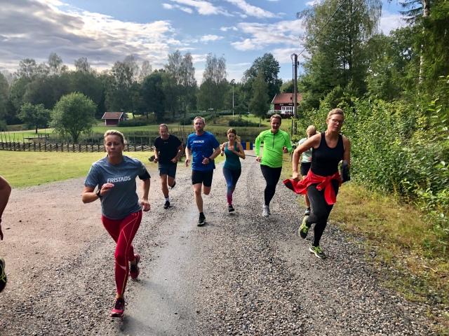 Löplektion nära Boråstorpet