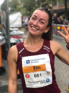 Terese Østeraas persade på 41.18 min i Kretsloppet