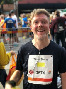 Niklas Johansson, Coltings pod-Niklas, klippte milen på 45 min trots mest cykling i år