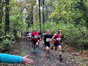 Starten Rya Åsar Trail Run 2019