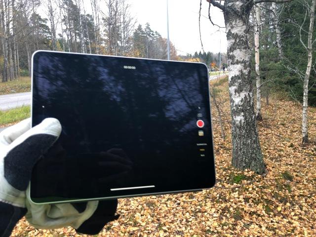 Så himla nöjd med min nya iPad Pro med stor 12,9 tum-skärm. Kanon för privatlektioner och små grupper.