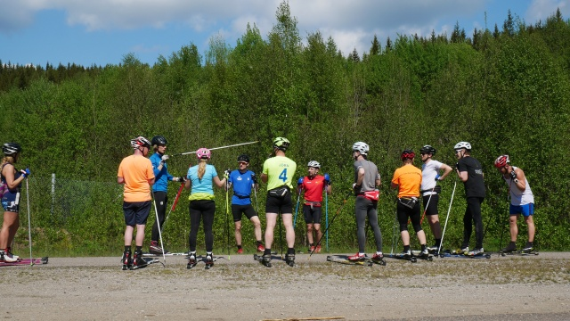 Rullskidlektion. Wickström Coaching. Vasaloppscoach.