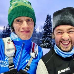 Erik Wickström och Niklas Bergh från podcasten Lagom Kondition
