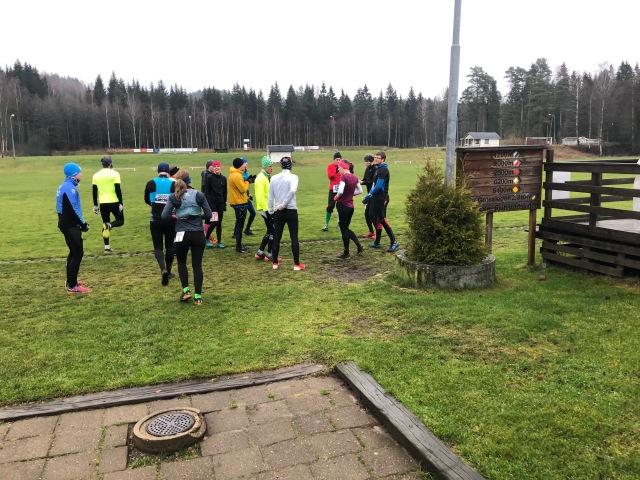 Sandared 27K i helgen som Peder och Linda Hallberg fixat. Jag ställde upp och joggade Sjömarkens 5:a.