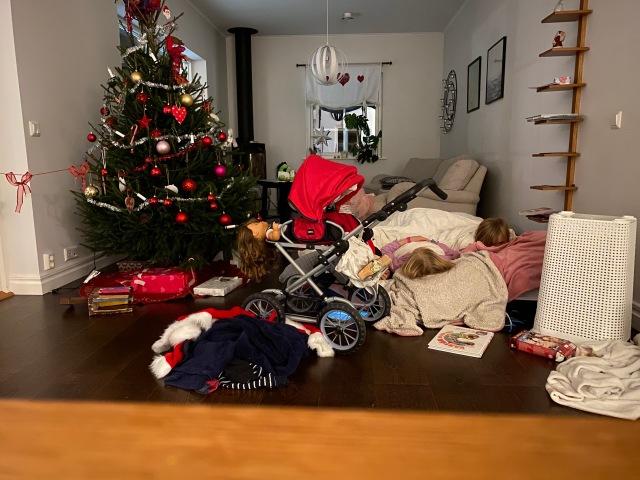 Från Östersund där vi firar jul med Idas syster Åsa med familj