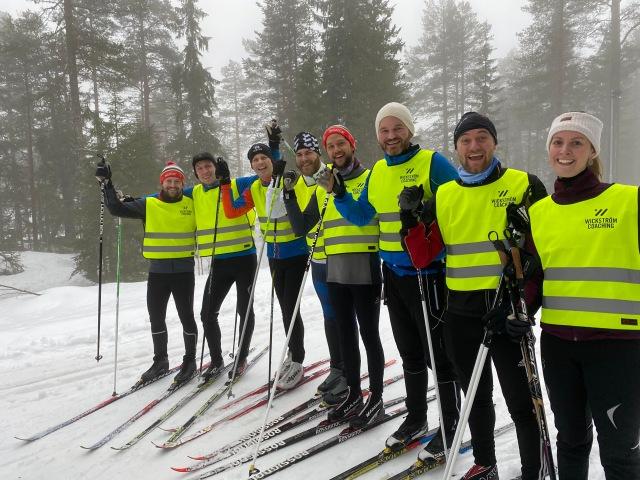 Skidkurs/skidlektion med Saab i Orsa Grönklitt fre 17 jan