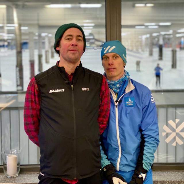 Niklas Bergh och Erik Wickström från podcasten Lagom Kondition
