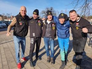 Team Taxus inför Stafettvasan 2020
