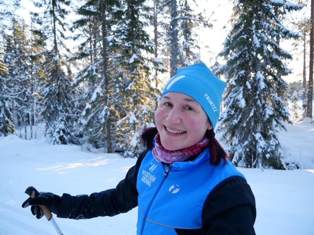 Mia Huss, en av många av adepterna i Wickström Coaching som fortsätter ett år till.
