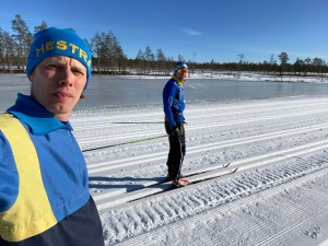 Robban och jag mellan Völsjön och Smågan