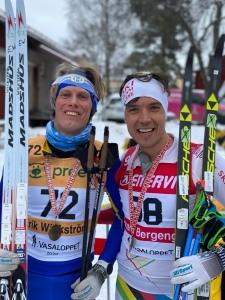 Rickard Bergengren som än så länge fortfarande bor i Borås (på väg söderut) blev topp 100 i år igen. Imponerande! 91:a, 98:a och 96:a senaste tre åren. Han har aldrig leget topp 100 i Oxberg.