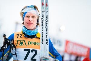 Erik Wickström Vasaloppet 2020. Foto: Magnus Östh.