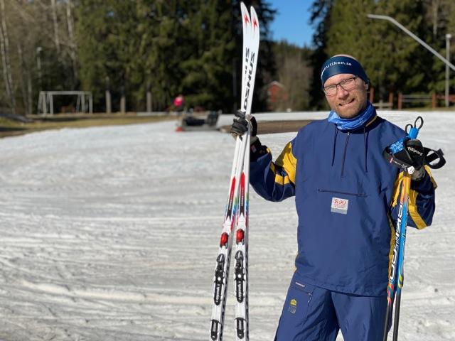 Tobias Magnusson vid Hestrastugan