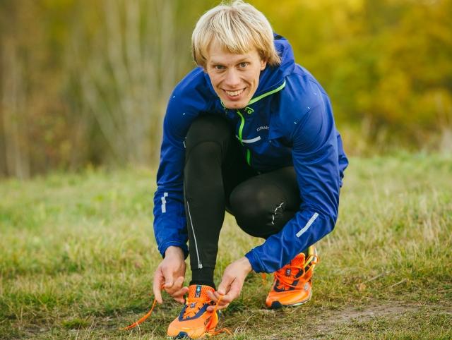 Porträttbild löpning Erik. Foto: Luca Mara.