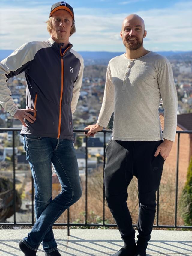 Tord Asle Gjerdalen och jag i Oslo.