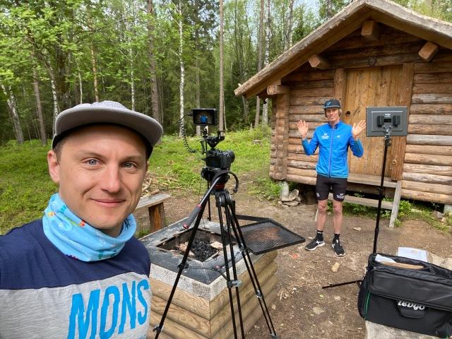 Jojje Borssén filmar för Acadyme och Wickström Coaching