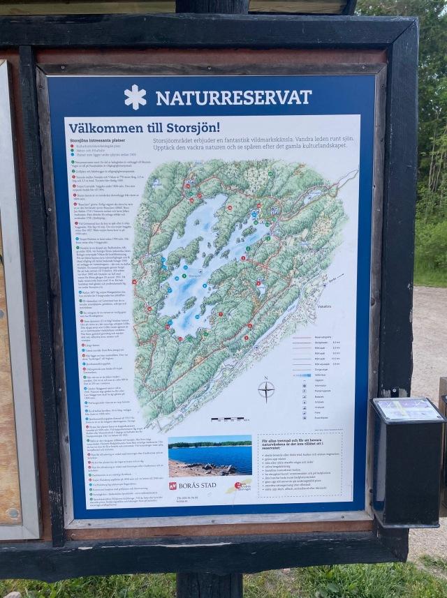 Storsjön runt i Rydboholm karta