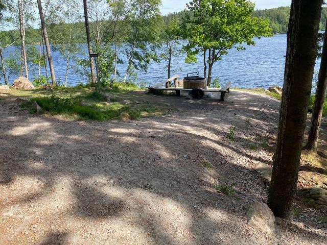 Grillplats vid Dalsjön