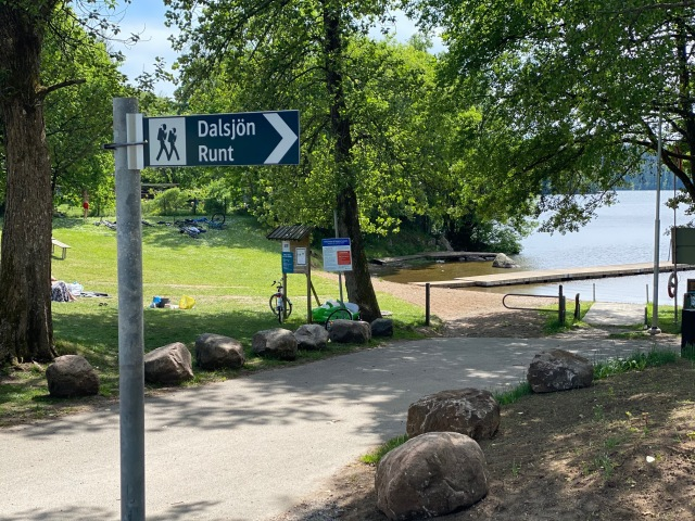 Skyltning Dalsjön runt i Dalsjöfors