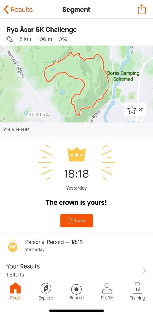 Rya Åsar 5K Challenge