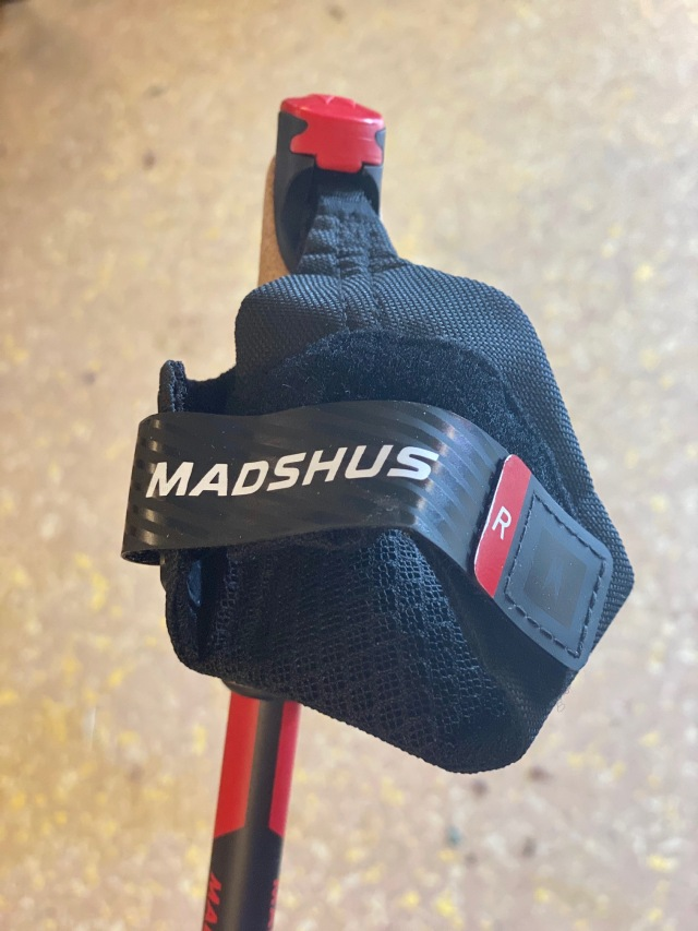 Madhus race pro pole handremmar
